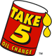 oil change take 5 logo